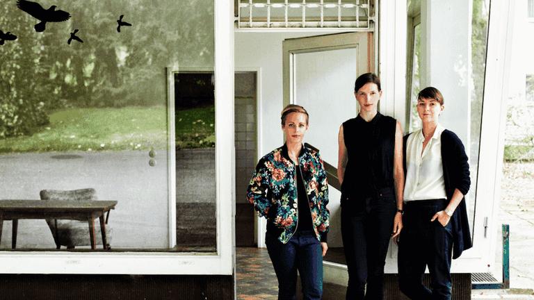 Katharina Beckmann, Stefanie Gerke and Nele Heinevetter, the women behind Niche