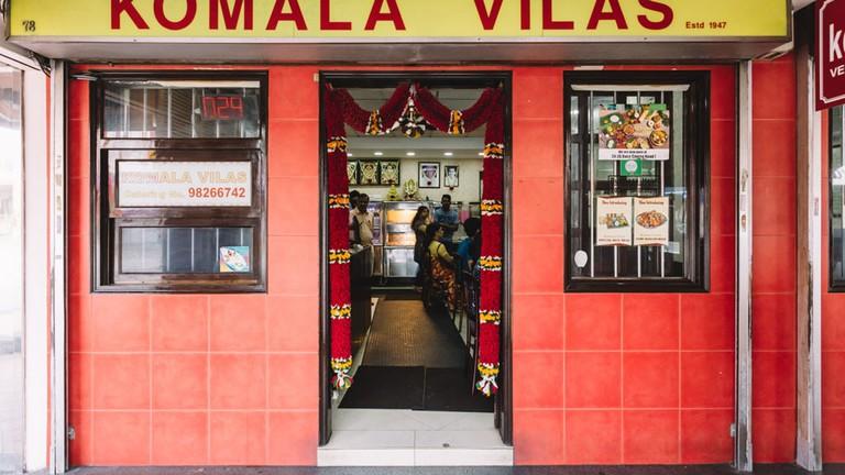 Singapore Little India Komala Vilas