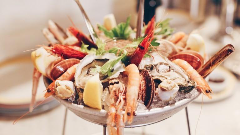 The epic shellfish plateaux at Zio Pesce restaurant, Milan | Courtesy Zio Pesce