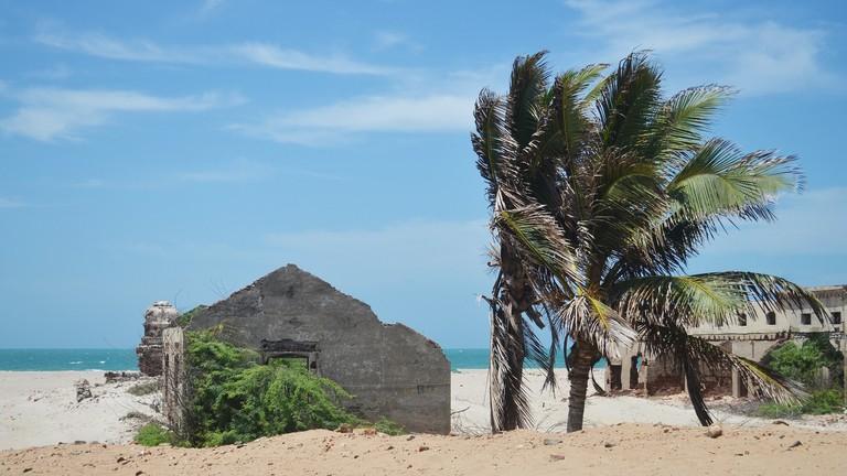 Dhanushkodi is an abandoned ghost town in Tamil Nadu