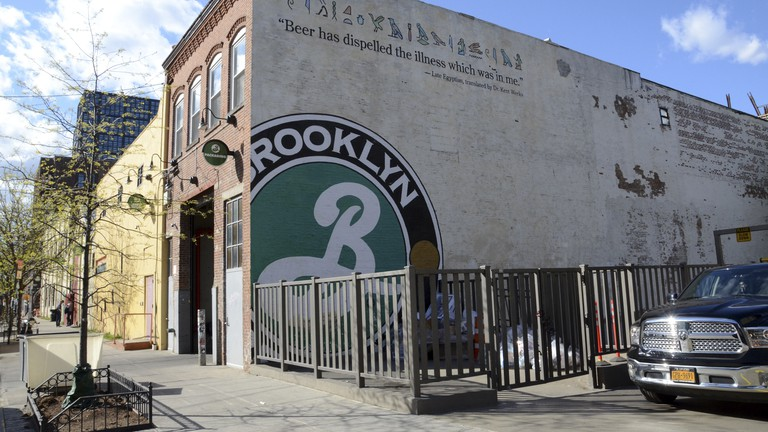 Brooklyn Brewery in Williamsburg, New York.