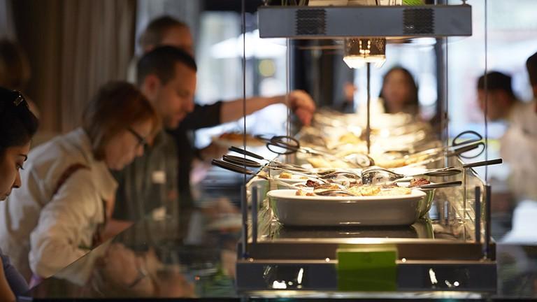 Restaurant Hiltl, Zuerich, Juni 2014. Photo by Elisabeth Real