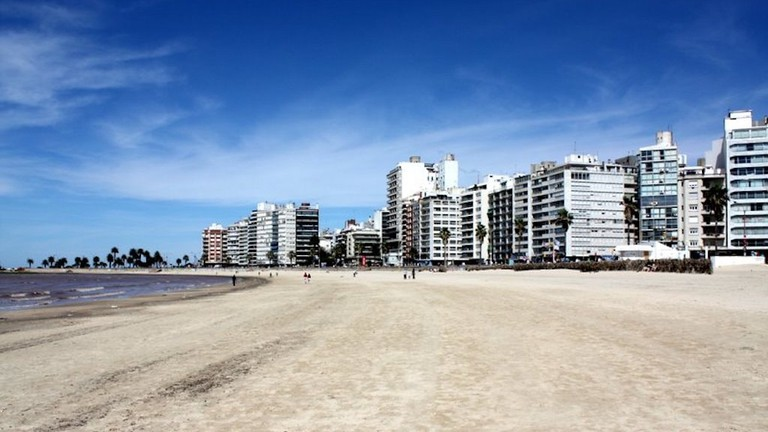 Playa Pocitos is Montevideo's top beach