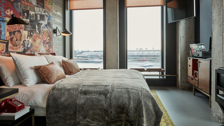 Guests at Sir Adam Hotel can look out over Amsterdam