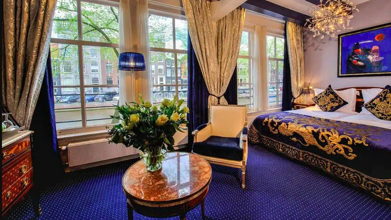 Each of Ambassade Hotel's rooms has a unique layout