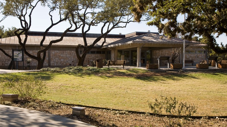 The Visitor Center at the Lyndon B. Johnson National Historical Park