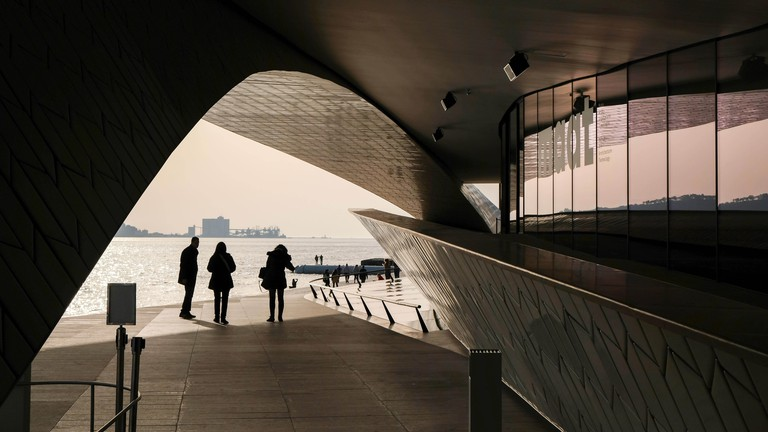 MAAT, the museum of Art, Architecture and Technology in Lisbon, Portugal
