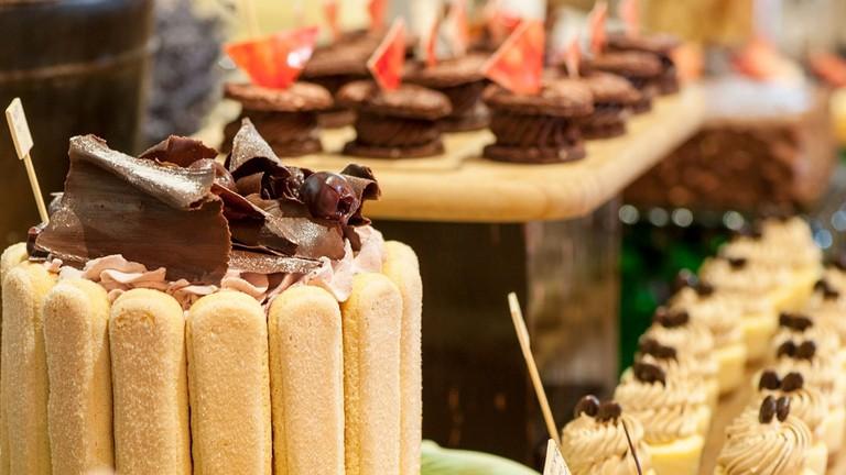 Desserts at Masso Restaurant