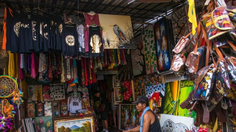 Art market, Sukawati, Bali, Indonesia