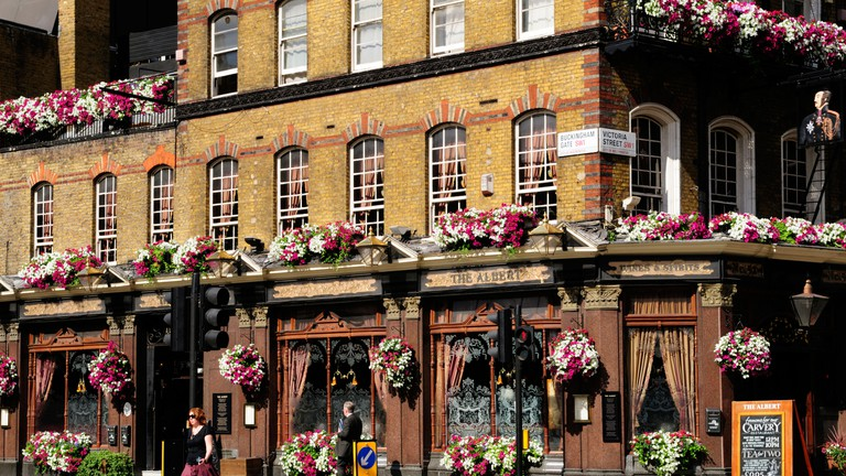 The Albert Pub is a Grade-II listed Victorian pub
