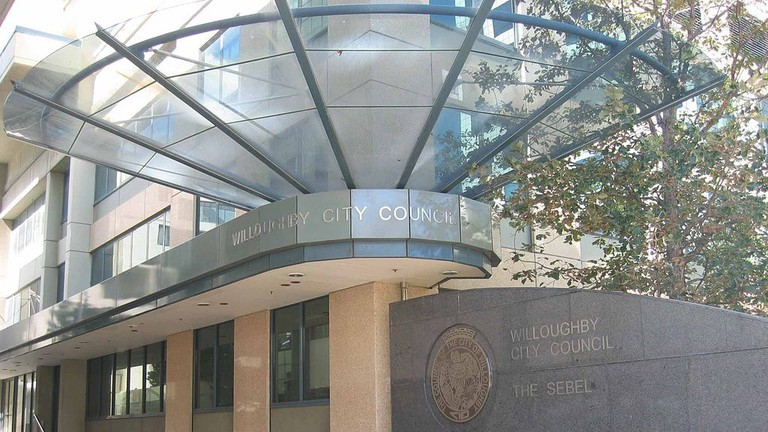Willoughby Council Chambers © John Rotenstein / Wikimedia Commons