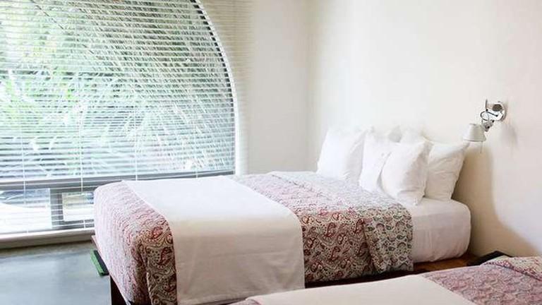 Hotel San José houses 40 motel-style rooms