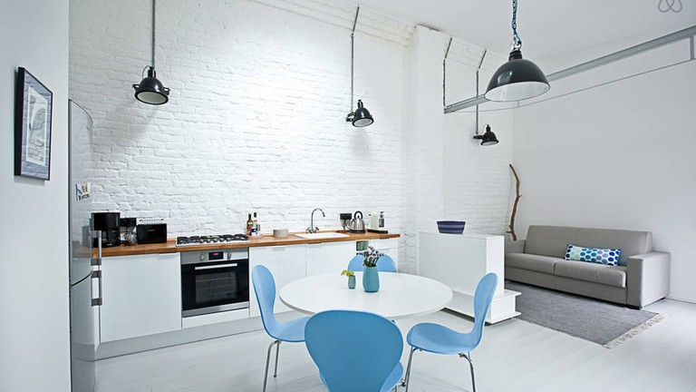 Modern apartment in residential area