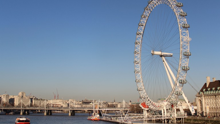 London Eye offers unparalleled views of the city