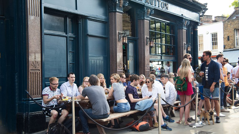 The Cat and Mutton in Hackney, London