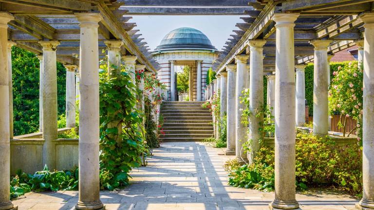 Hampstead Pergola and Hill Garden in London