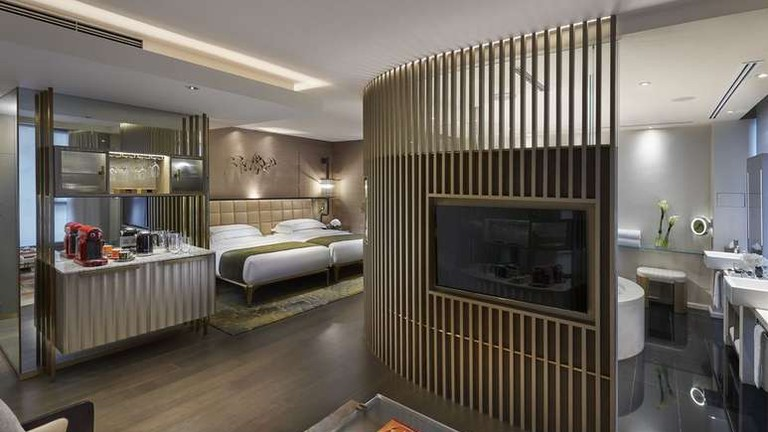 There are 111 suites at The Landmark Mandarin Oriental, Hong Kong