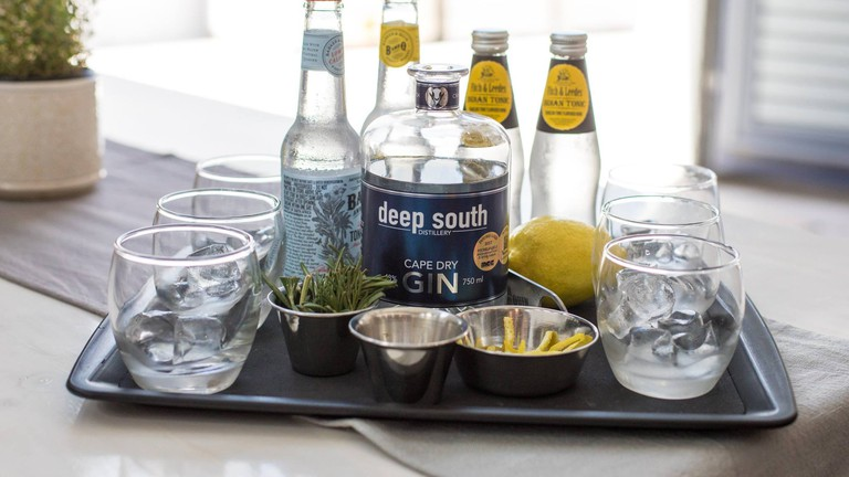 Gins and accoutrements at the Deep South Distillery