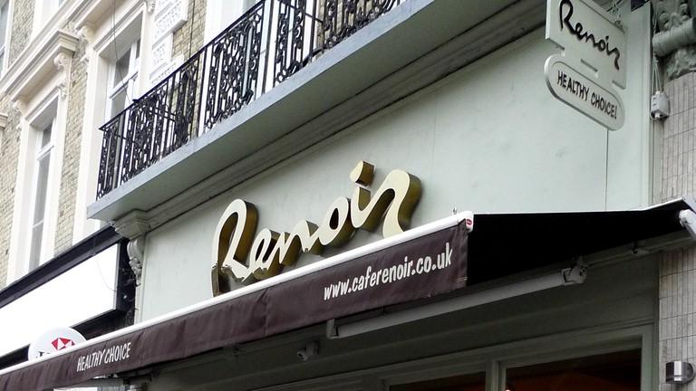 Cafe Renoir, Kentish Town, London