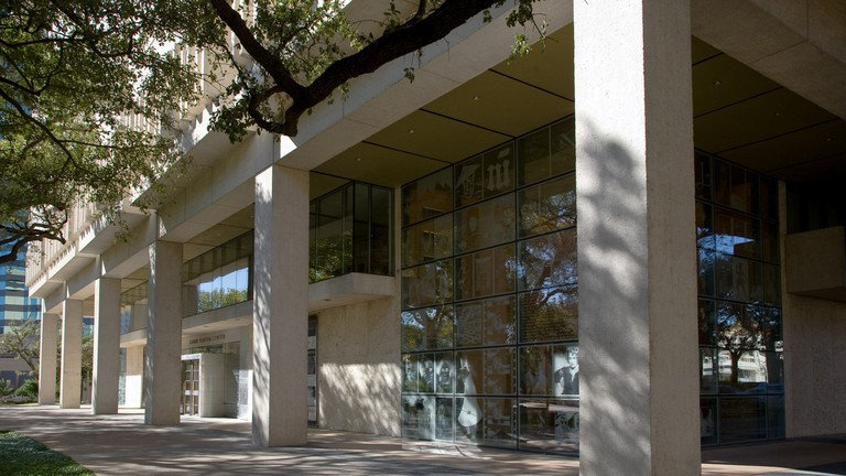 The Harry Ransom Center in Austin, Texas, USA.