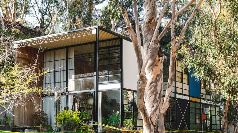 The Eames Foundation in Pacific Palisades is the original case study house and residence of architects & designers Charles and Ray Eames.