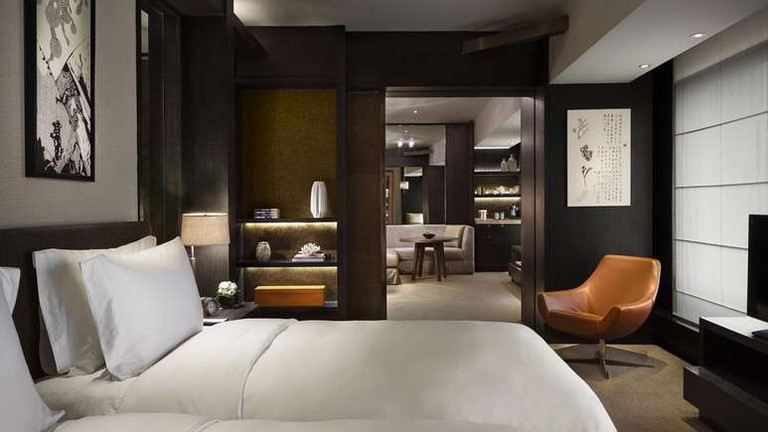 Rosewood Beijing combines modern design with traditional Chinese elements