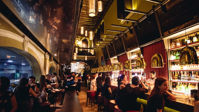 Alley Bar in Orchard Road, Singapore