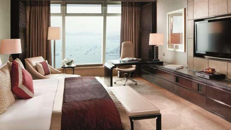 The Ritz-Carlton, Hong Kong, is the world's highest hotel