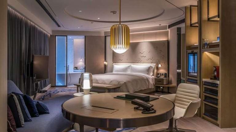 The InterContinental Beijing Sanlitun has 309 rooms