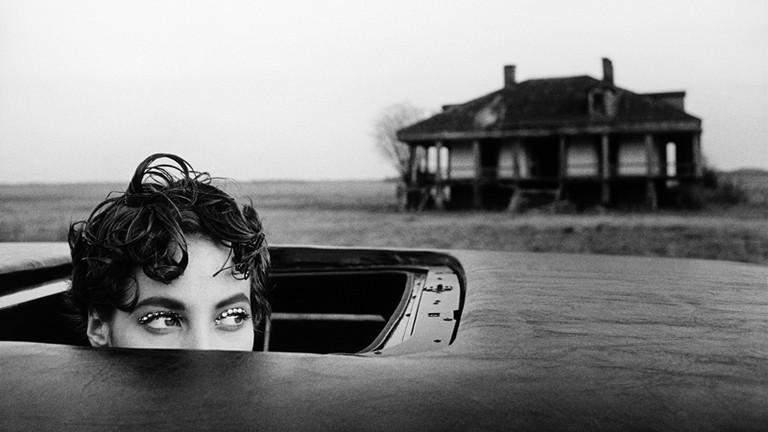 Arthur Elgort, Christy Turlington in New Orleans, 1990