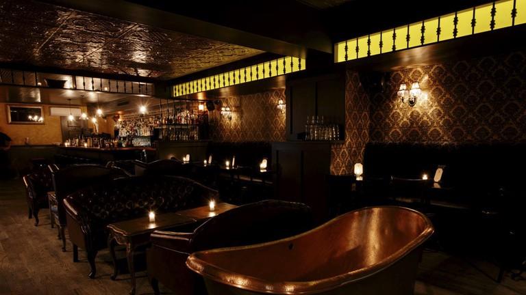 Bathtub Gin in Chelsea, New York, USA.