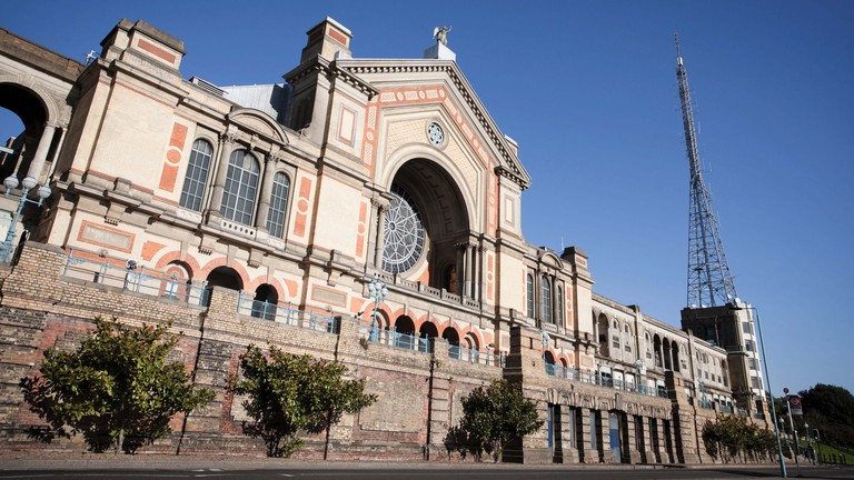 Alexandra Palace in North London