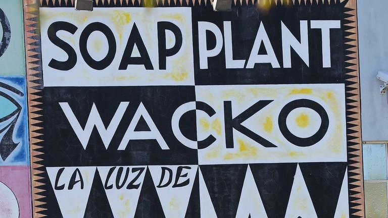 Wacko Soap Plant store sign