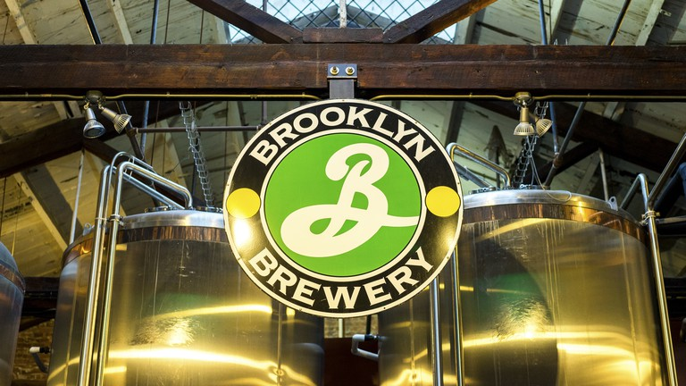 The Brooklyn Brewery in the Williamsburg neighborhood of Brooklyn is a popular tourist attraction