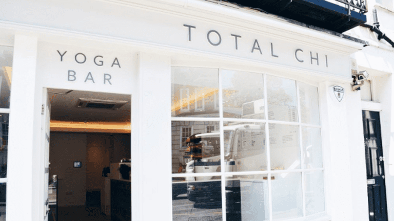 Total Chi has its own juice bar