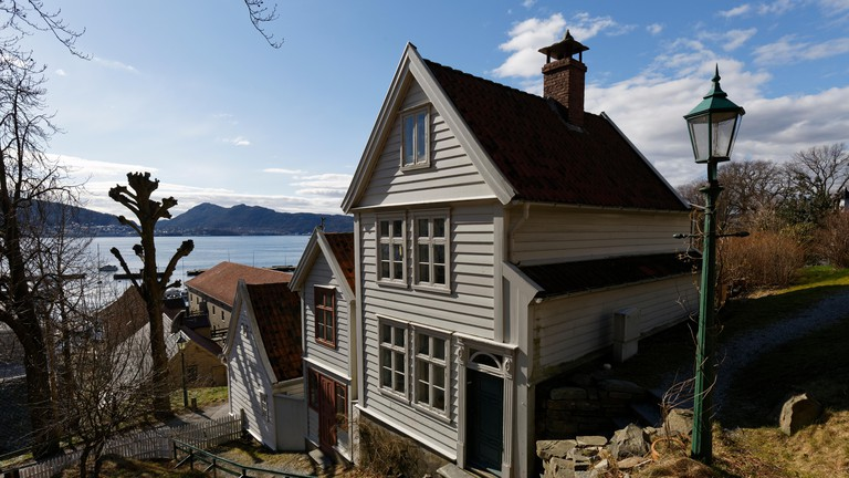 Old Bergen is an open-air museum with some 40 wooden houses in typical Norwegian style from 18th, 19th century.