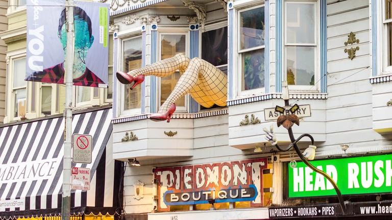 Haight Ashbury neighbourhood in San Francisco.