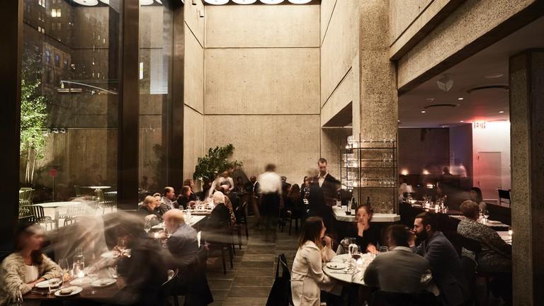 Flora Bar is in The Met Breuer's basement