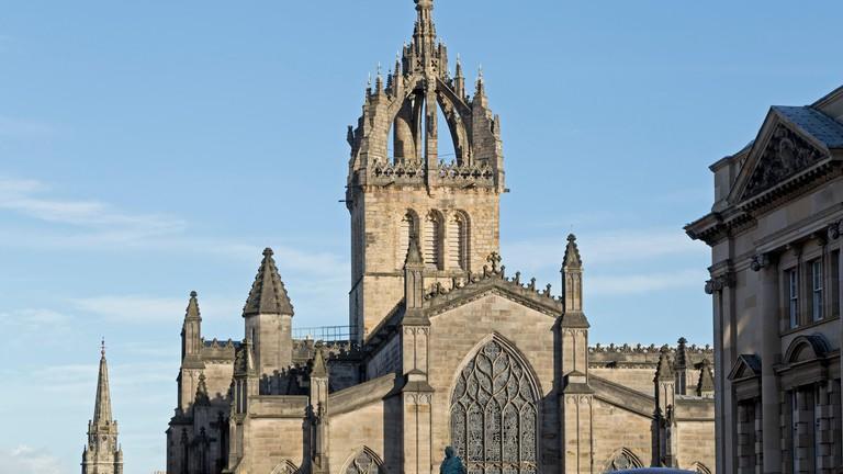 St Giles Cathedral, Edinburgh.