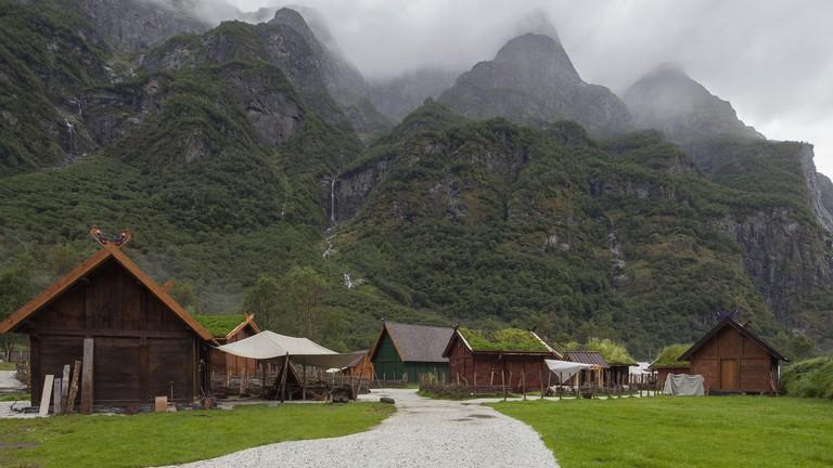 Njardarheimr Viking village in Gudvangen
