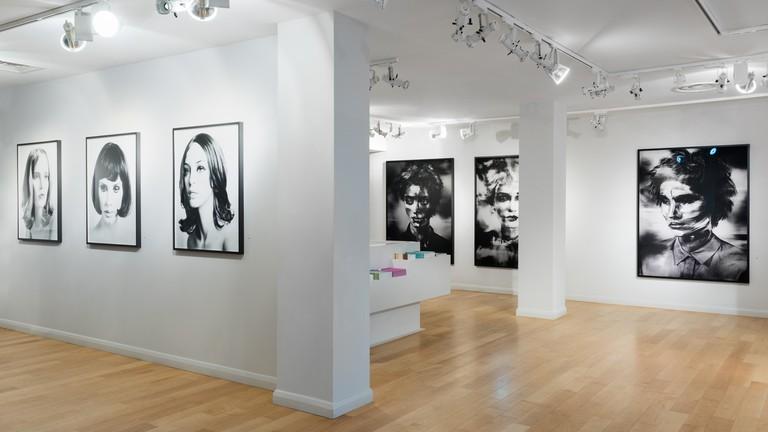 Installation shot of Valerie Berlin's exhibition