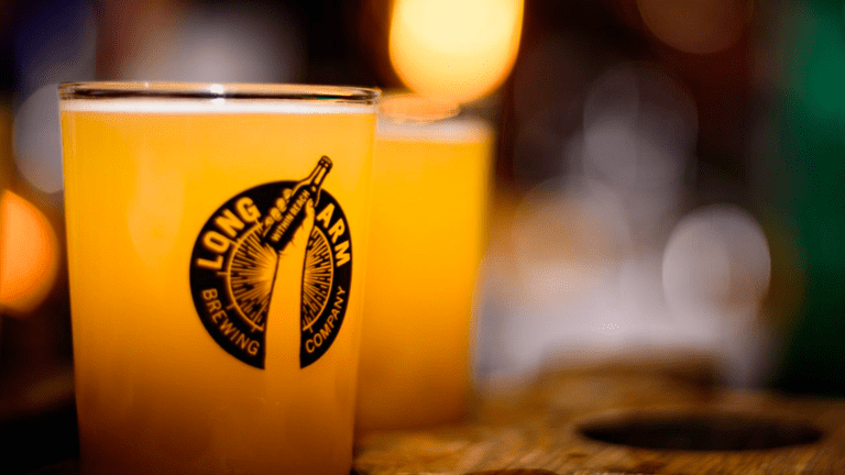 The Long Arm Pub and Brewery specialises in craft beer