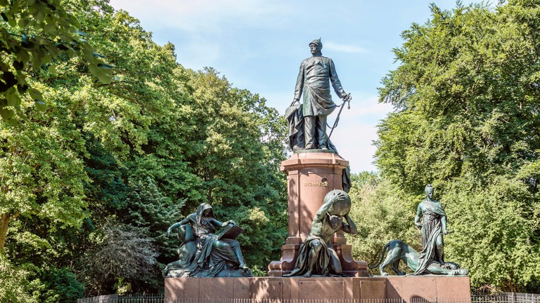 Bismark Memorial at Berlin Tiergarten Park