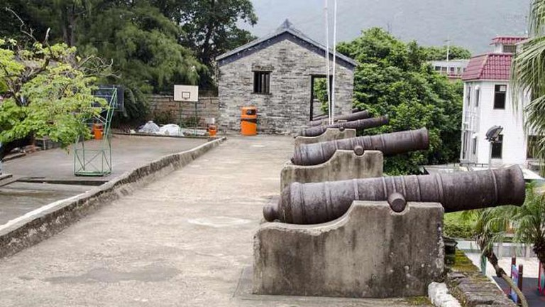 Tung Chung Fort was once a base for pirates