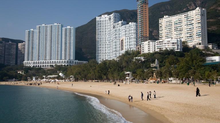 Repulse Bay Beach Hong Kong SAR China Fareast Asia
