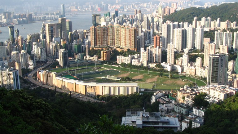Happy Valley Racecourse © Minghong / Wikimedia Commons