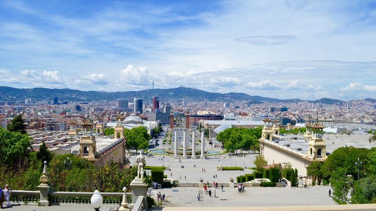 View from Museu Nacional d'Art de Catalunya | © Matthew Robey/Flickr