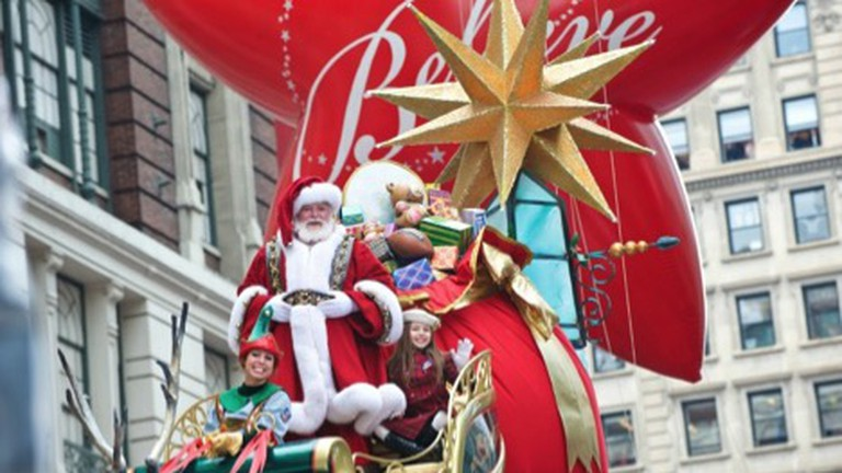 THE ONE-AND-ONLY SANTA CLAUS | © Courtesy of Macy's