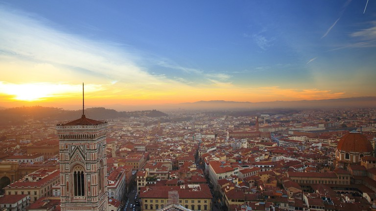 Stunning Views From The Best Rooftop Bars In Florence Italy