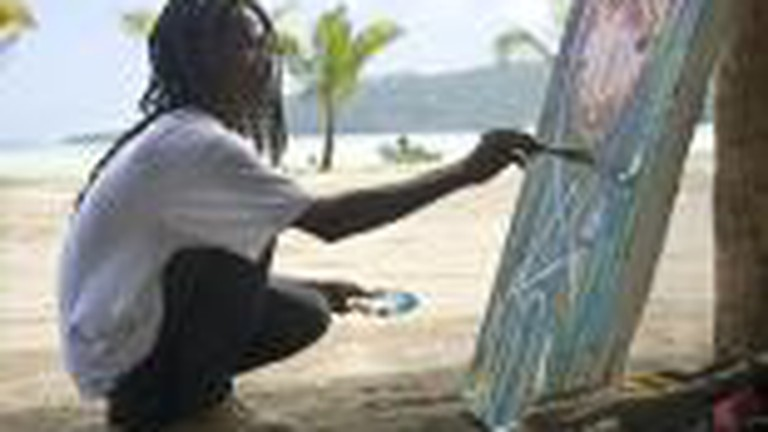 Haitian Art Emerges From The Rubble